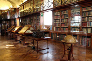 The Biblioteca Reale is home to the only surviving self portrait of Leonardo Da Vinci