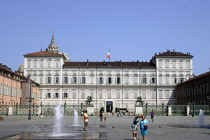Palazzo Reale in the centre of Torino was the principle Palace of the Savoy Royal Family