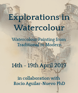 Click here for information about TEC Explorations in Watercolour Course 14th - 19th April 2019