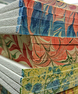Bookbinding skills will be taught by Paola Fagnola during the TEC Bookbinding and Decorative Papermaking course