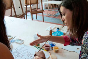 TEC is delighted to collaborate with the accomplished teacher Rocío Aguiliar-Nuevo for Explorations in Watercolour