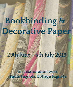 Click here for information about TEC Bookbinding and Decorative Paper Course 29th June - 6th July